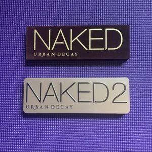 ORIGINAL naked and naked 2 palettes